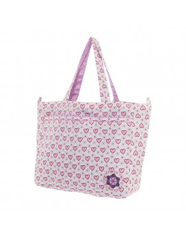 SUPERLIGHT XL PINK ORGANIZER BAG BY KATUKI SAGUYAKI