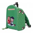 INSULATED GREEN BACKPACK BY KATUKI SAGUYAKI UNFOLDABLE AND EASY CLEANING