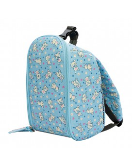 INSULATED BLUE BACKPACK BY KATUKI SAGUYAKI UNFOLDABLE AND EASY CLEANING