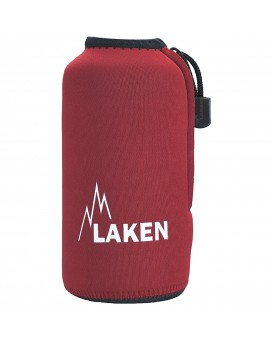 RED NEOPRENE COVER FOR LAKEN BOTTLES 0,6L