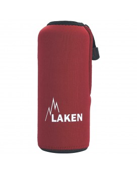 RED NEOPRENE COVER FOR LAKEN BOTTLES 0,75L