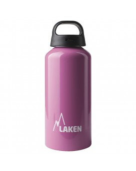 ALUMINIUM DRINKING BOTTLE 0,6L PINK CLASSIC (WIDE MOUTH)