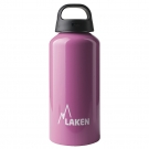 0.6L PINK CLASSIC ALUMINIUM BOTTLE (WIDE MOUTH)