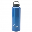 ALUMINIUM DRINKING BOTTLE 0,75L BLUE CLASSIC (WIDE MOUTH)