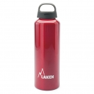 ALUMINIUM DRINKING BOTTLE 0,75L RED CLASSIC (WIDE MOUTH)