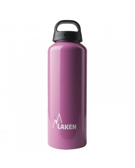 ALUMINIUM DRINKING BOTTLE 0,75L PINK CLASSIC (WIDE MOUTH)