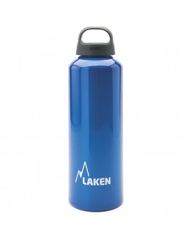 1L BLUE CLASSIC ALUMINIUM BOTTLE (WIDE MOUTH)