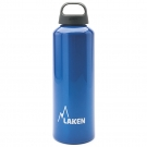 ALUMINIUM DRINKING BOTTLE 1L BLUE CLASSIC (WIDE MOUTH)