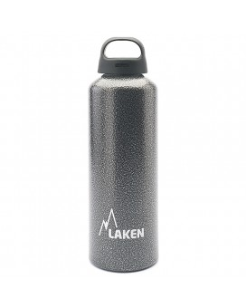 ALUMINIUM DRINKING BOTTLE 1L GRANITE CLASSIC (WIDE MOUTH)