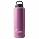 ALUMINIUM DRINKING BOTTLE 1L PINK CLASSIC (WIDE MOUTH)