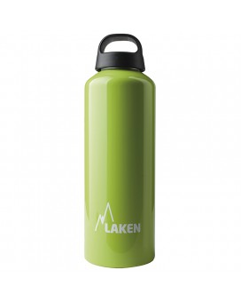 1L GREEN CLASSIC ALUMINIUM BOTTLE (WIDE MOUTH)
