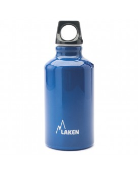 0.35L BLUE FUTURA ALUMINIUM BOTTLE (NARROW MOUTH)