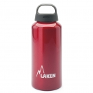 0.6L RED CLASSIC ALUMINIUM BOTTLE (WIDE MOUTH)