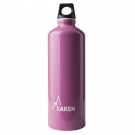 ALUMINIUM DRINKING BOTTLE 0,75L PINK FUTURA (NARROW MOUTH)