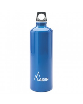 ALUMINIUM DRINKING BOTTLE 0,75L BLUE FUTURA (NARROW MOUTH)