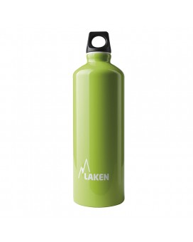 ALUMINIUM DRINKING BOTTLE 0,75L GREEN FUTURA (NARROW MOUTH)