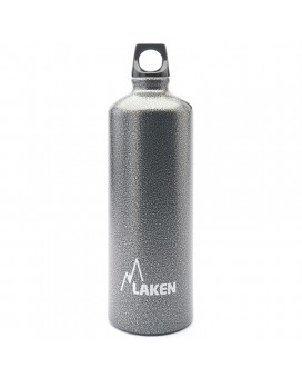 ALUMINIUM DRINKING BOTTLE 1L GRANITE FUTURA (NARROW MOUTH)