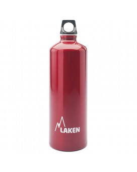ALUMINIUM DRINKING BOTTLE 1L RED FUTURA (NARROW MOUTH)