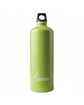 ALUMINIUM DRINKING BOTTLE 1L GREEN FUTURA (NARROW MOUTH)