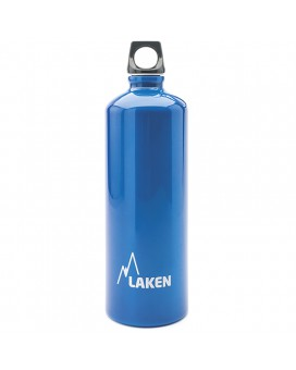 ALUMINIUM DRINKING BOTTLE 1L BLUE FUTURA (NARROW MOUTH)