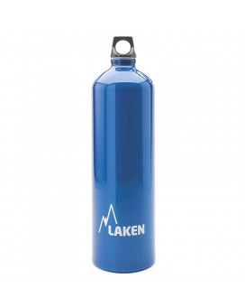 ALUMINIUM DRINKING BOTTLE 1,5L BLUE FUTURA (NARROW MOUTH)