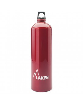ALUMINIUM DRINKING BOTTLE 1,5L RED FUTURA (NARROW MOUTH)