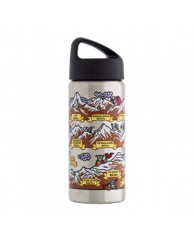 Stainless steel thermo bottle 0,5 L. HIMALAYA