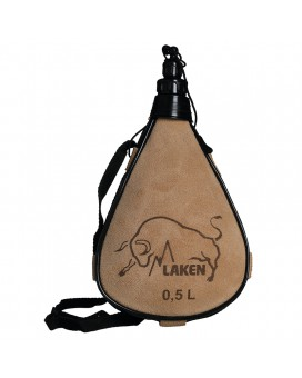 LEATHER CANTEEN STRAIGHT FORM 0,5L