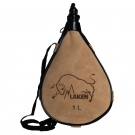 LEATHER CANTEEN STRAIGHT FORM 1L
