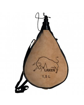 LEATHER CANTEEN STRAIGHT FORM 1,5L