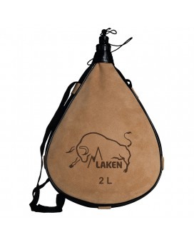 LEATHER CANTEEN STRAIGHT FORM 2L