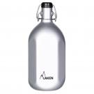 Aluminium drinking bottle OCTOGONAL 1 L