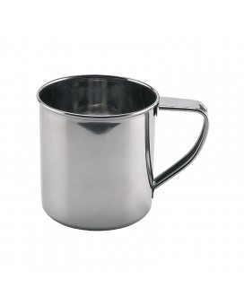 STAINLESS STEEL MUG 0.4L
