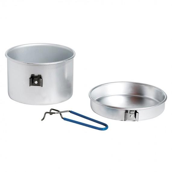 Aluminium cooking set 1 p. 1,25 L.