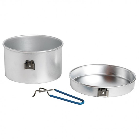 Aluminium cooking set 2 p. 1,6 L.