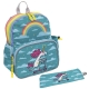 TURQUOISE PACKPACK WITH INSULATED AREA BY KATUKI SAGUYAKI