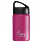 FUCHSIA 0.35L STAINLESS STEEL THERMO BOTTLE - CLASSIC (WIDE MOUTH)