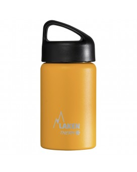 YELLOW 0.35L STAINLESS STEEL THERMO BOTTLE - CLASSIC (WIDE MOUTH)