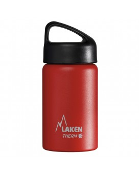 INSULATED BOTTLE 0,35L STAINLESS STEEL CLASSIC (WIDE MOUTH)