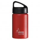 RED 0.35L STAINLESS STEEL THERMO BOTTLE - CLASSIC (WIDE MOUTH)