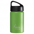GREEN 0.35L STAINLESS STEEL THERMO BOTTLE - CLASSIC (WIDE MOUTH)