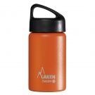 ORANGE 0.35L STAINLESS STEEL THERMO BOTTLE - CLASSIC (WIDE MOUTH)