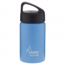 LIGHT BLUE 0.35L STAINLESS STEEL THERMO BOTTLE - CLASSIC (WIDE MOUTH)