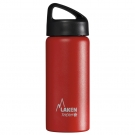 RED 0.5L STAINLESS STEEL THERMO BOTTLE - CLASSIC (WIDE MOUTH)