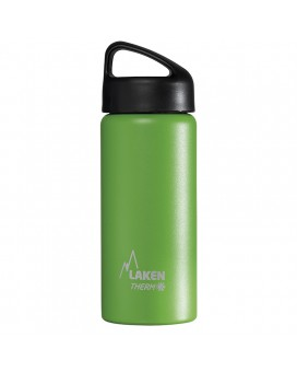 INSULATED BOTTLE 0,5L STAINLESS STEEL CLASSIC (WIDE MOUTH)