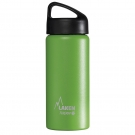 GREEN 0.5L STAINLESS STEEL THERMO BOTTLE - CLASSIC (WIDE MOUTH)