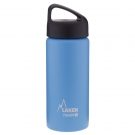 LIGHT BLUE 0.5L STAINLESS STEEL THERMO BOTTLE - CLASSIC (WIDE MOUTH)