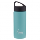 TURQUOISE 0.5L STAINLESS STEEL THERMO BOTTLE - CLASSIC (WIDE MOUTH)
