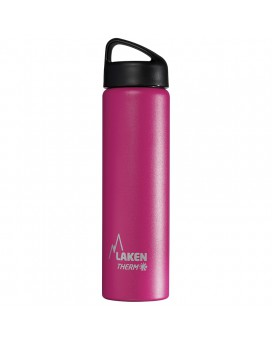 FUCHSIA 0.75L STAINLESS STEEL THERMO BOTTLE - CLASSIC (WIDE MOUTH)