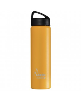 YELLOW 0.75L STAINLESS STEEL THERMO BOTTLE - CLASSIC (WIDE MOUTH)